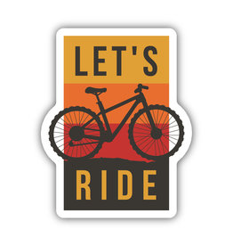 Stickers Northwest Let's Ride Sticker