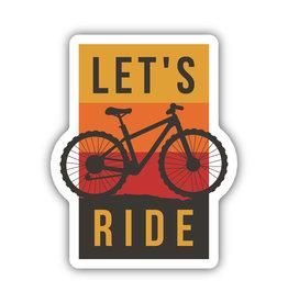 Stickers Northwest Let's Ride Sticker