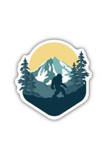 Stickers Northwest Outdoor Sasquatch Sticker