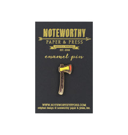 Noteworthy Axe Enamel Pin