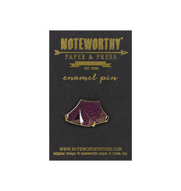 Noteworthy Tent Enamel Pin