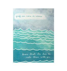 Maija Rebecca Hand Drawn Grief Waves