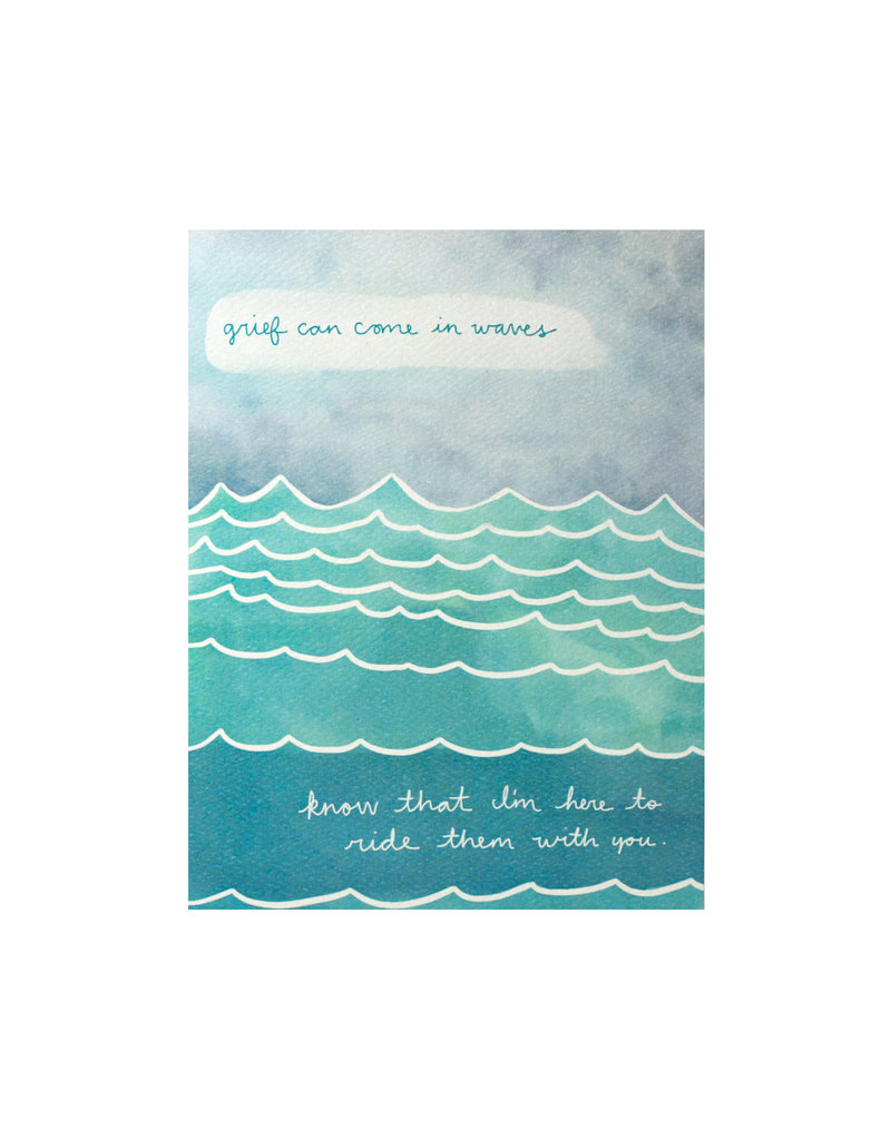 Maija Rebecca Hand Drawn Grief Waves