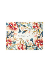 Maija Rebecca Hand Drawn Watercolor Floral thank you