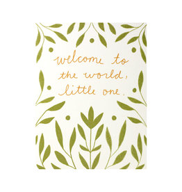 Maija Rebecca Hand Drawn Welcome Little One