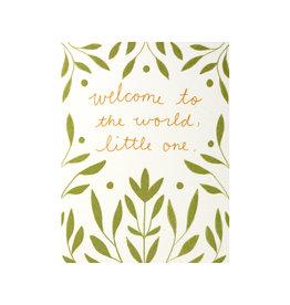 Maija Rebecca Hand Drawn Welcome Little One Greeting Card