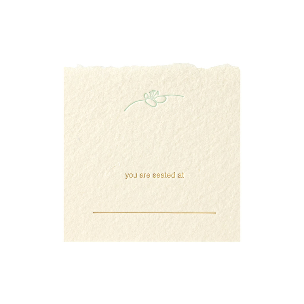 Oblation Papers & Press spring blossom placecards  s/8