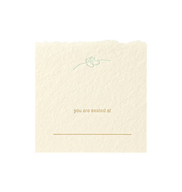 Oblation Papers & Press spring blossom placecards