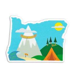 Stella Fox-Smith Mt Hood Oregon Sticker