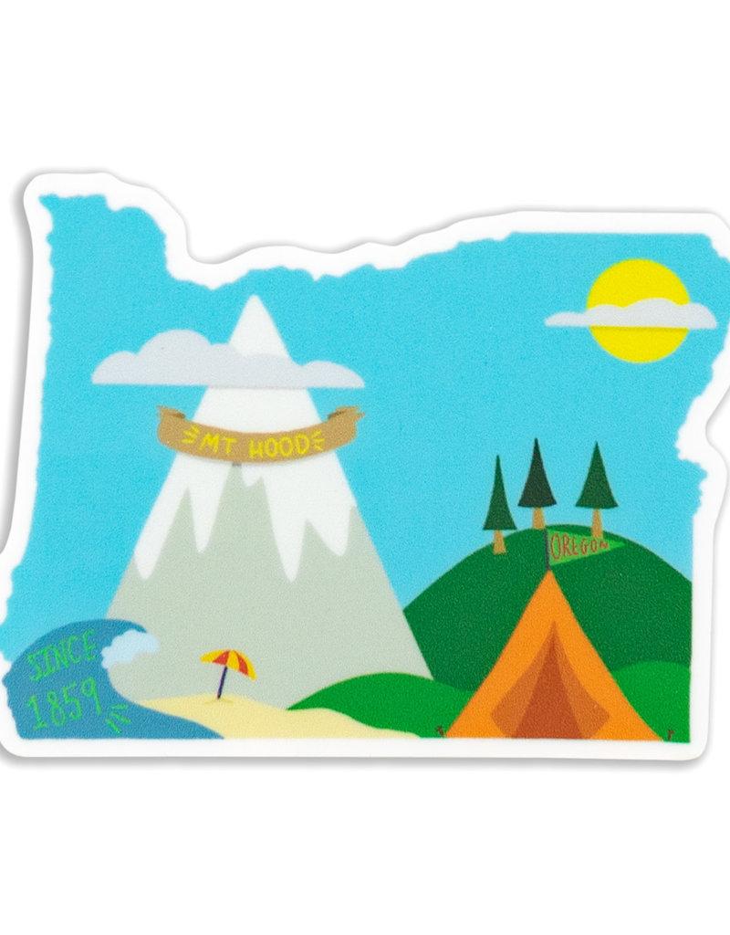 Stella Fox-Smith Mt Hood Oregon Sticker