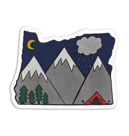 Stella Fox-Smith Oregon Mountains Sticker