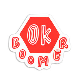 Stella Fox-Smith OK Boomer Sticker
