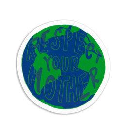 Stella Fox-Smith Respect Mother Earth Sticker