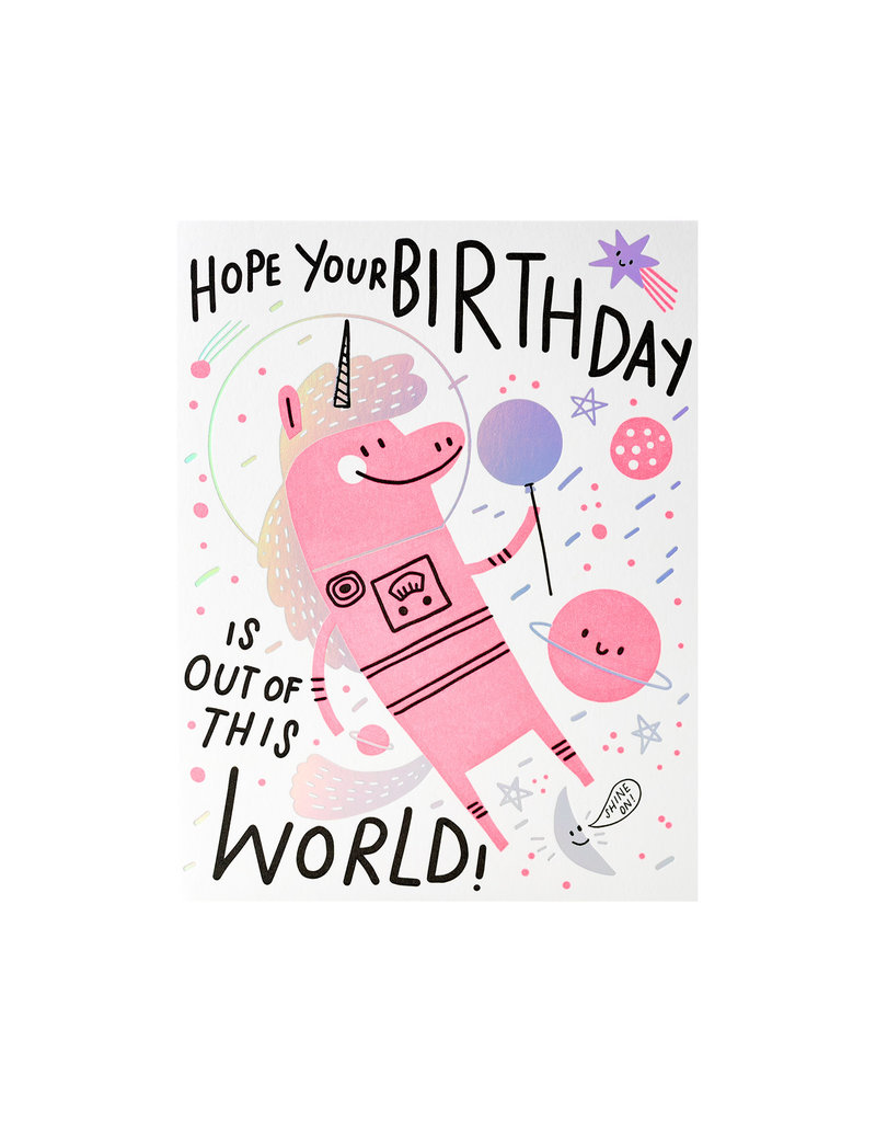 Hello Lucky Out of this World Birthday