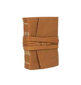 Medieval Amalfi Cognac Leather Journal 3.5x5