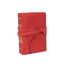 Manufactus Medieval Amalfi Red Leather Journal 3.5 x 5
