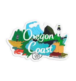 Oregon Coast Sticker
