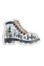 KPB Designs Take a Hike Boot Sticker