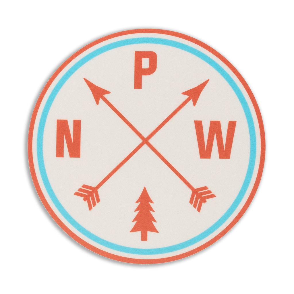 Stickers Northwest PNW Arrows Diecut Sticker