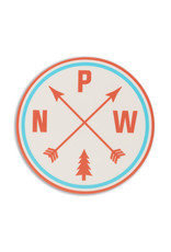 Stickers Northwest PNW Arrows Diecut Sticker