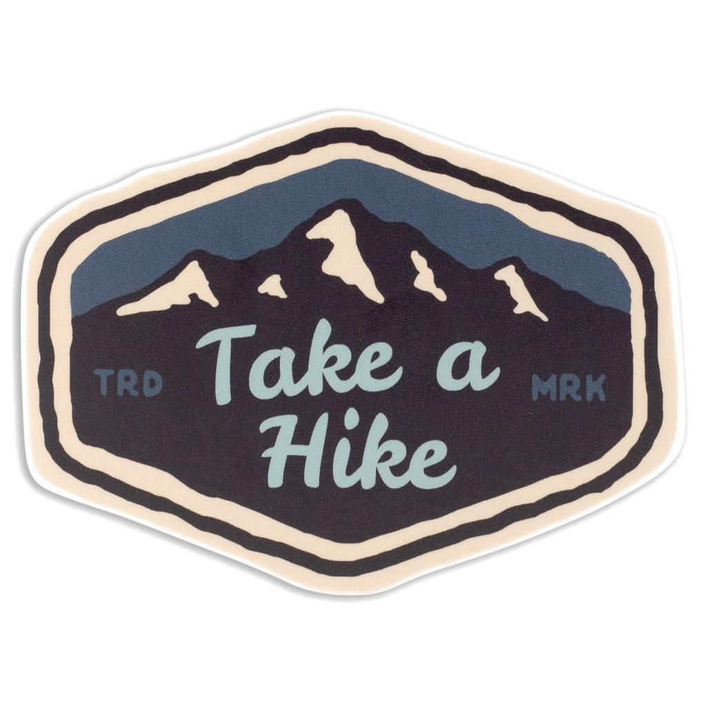 Stickers Northwest Take a Hike Mountain Range Sticker