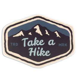Stickers Northwest Take a Hike Mountain Range Sticker