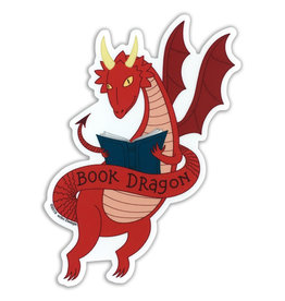 AC BC Design Book Dragon Sticker
