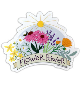AC BC Design Flower Power Sticker