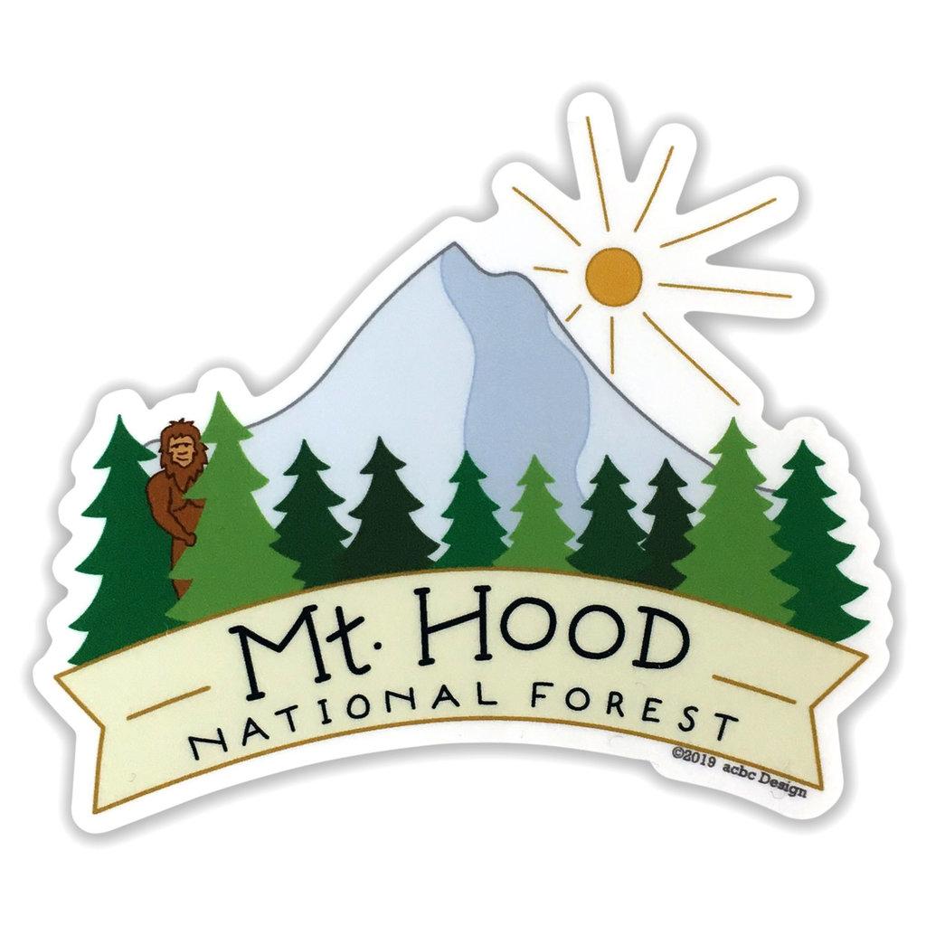 AC BC Design Mt Hood Sticker