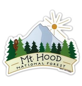 AC BC Design Mt Hood Sticker