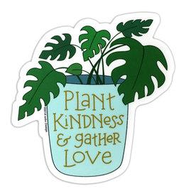 AC BC Design Plant Kindness Vinyl Sticker