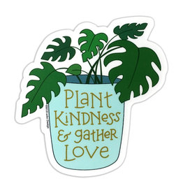 AC BC Design Plant Kindness Vinyl Sticker