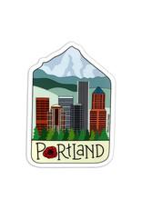 AC BC Design Portland City Sticker