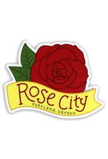 AC BC Design Rose City Vinyl Sticker