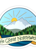 AC BC Design The Great NW Vinyl Sticker