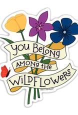 AC BC Design Wildflowers Vinyl Sticker