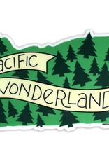 AC BC Design Pacific Wonderland Vinyl Sticker