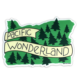AC BC Design Pacific Wonderland Vinyl Sticker