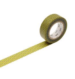 Flower Crest Hanabishi Yellow Tape