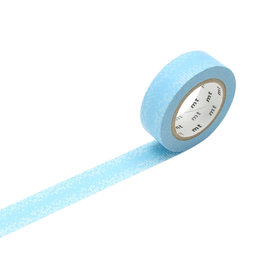 Water Drop Gradation Blue Washi Tape