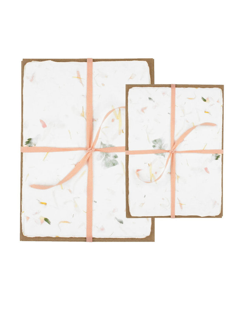 Oblation Papers & Press Handmade Paper Pack Floral
