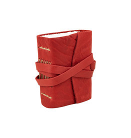Manufactus Medieval Amalfi Red Leather Journal 2.33 x 3.5