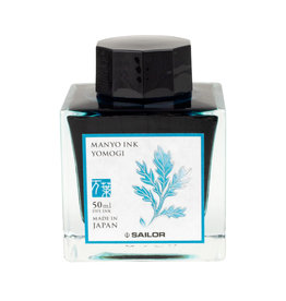 Sailor Sailor Manyo Yomogi Bottled Ink