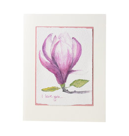 Grace Watercolors Magnolia I love you