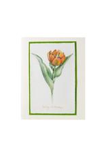 Grace Watercolors Tulip Happy Birthday