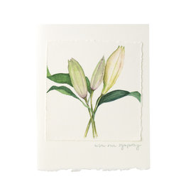 Grace Watercolors Lily Sympathy