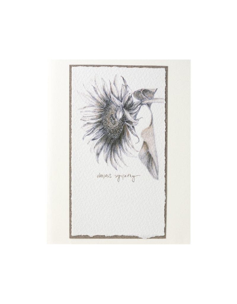 Grace Watercolors Sunflower Sympathy