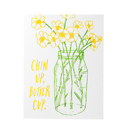 Wild Ink Press Chin Up, Buttercup Card