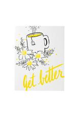 Smudge Ink Tea Get Well Card