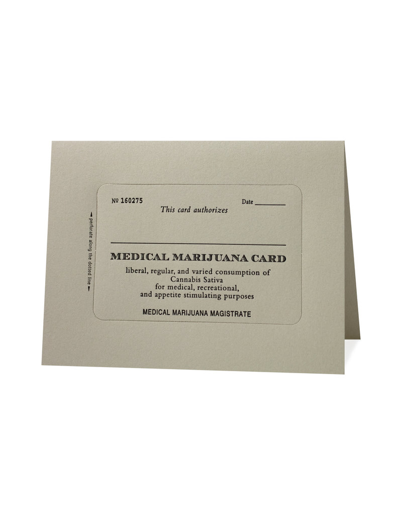 HWG medical marijuana card